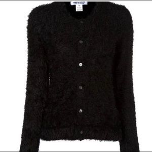 Comme des garcons fuzzy sweater